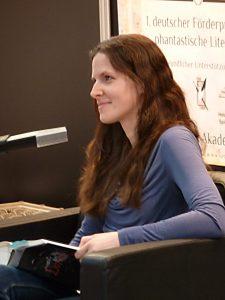 Bettina Belitz liest auf der Buchmesse